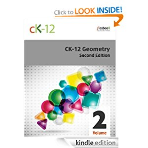 CK-12 Geometry - Second Edition, Volume 2 Of 2 icon