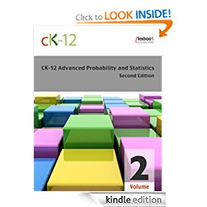 CK-12 Probability and Statistics - Advanced (Second Edition), Volume 2 Of 2 icon
