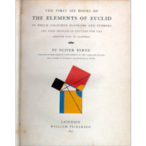 Oliver Byrne's Edition of Euclid icon