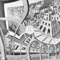 Escher and the Droste Effect