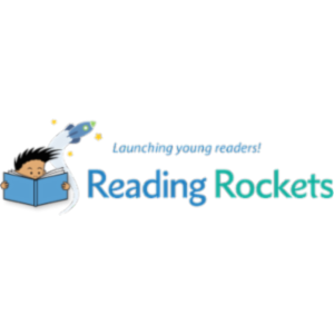 Reading rockets: Children's books and authors icon