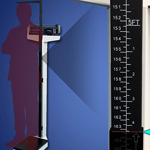 Learning Tools: Reading Height Measurements on a Physician Mechanical Beam Scale with Height Rod icon