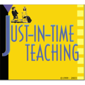 Just-in-Time Teaching (JiTT) technique icon