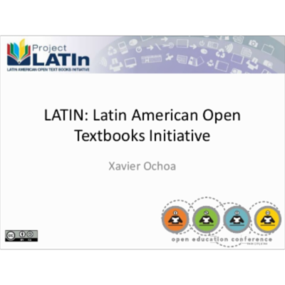 Project LATin:  Latin America Open Textbooks Initiative icon