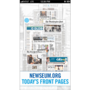 Today's Front Pages App for iOS