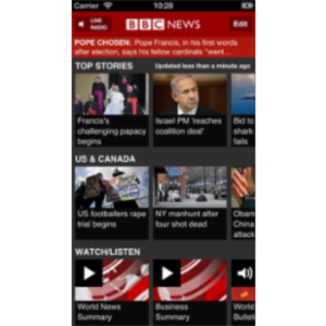 BBC News App for iOS icon