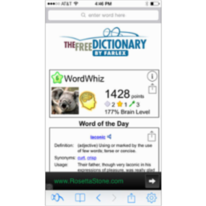 Dictionary. App for iOS icon