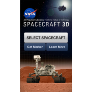 Spacecraft 3D App for iOS