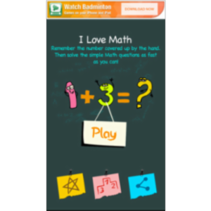 Math Maniac App for Android icon