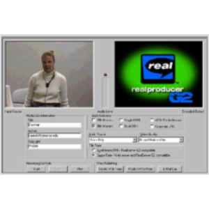 Creating Streaming video with RealProducer icon