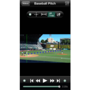 Vernier Video Physics App for iOS