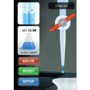 Titration Simulator App for iOS icon