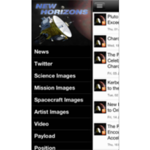 New Horizons: a NASA Voyage to Pluto App for iOS icon