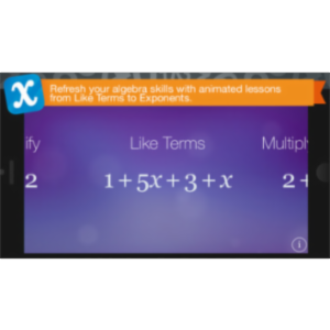 Algebra Touch App for iOS icon
