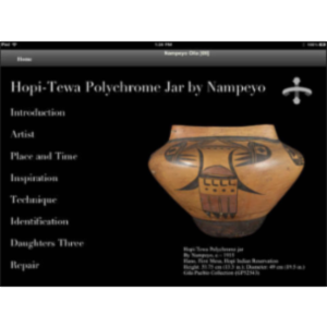 Ancient to Modern Southwest Indian Pottery App for iPad icon