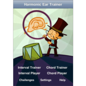 Harmonic Ear Trainer App for iOS icon