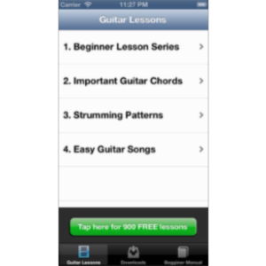 Beginner Guitar Songs App for iOS