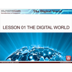 Introduction to Computers: Lesson 1 Digital World (w/ exclusive videos) icon