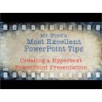 Creating a Hypertext PowerPoint Presentation - Most Excellent PowerPoint Tips icon