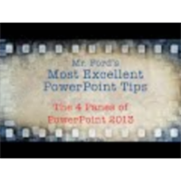 The 4 Panes of PowerPoint 2013 - Most Excellent PowerPoint Tips icon