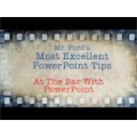At The Bar With PowerPoint 2013 - Most Excellent PowerPoint Tips icon