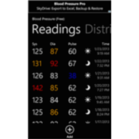 Blood Pressure App for Windows Phone icon