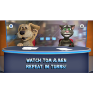 Talking Tom & Ben News App for iOS icon