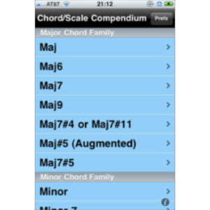 iImprov - Chord/Scale Compendium App for iOS icon