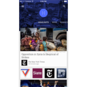 Google Play Newsstand App for iOS icon