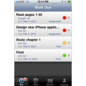 Homeworkr App for iOS icon