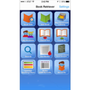 Book Retriever App for iOS icon