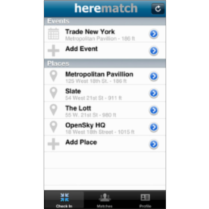 herematch App for iOS