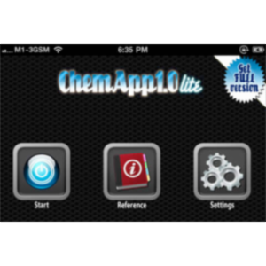ChemApp Lite: Chemistry Formula App for iOS icon