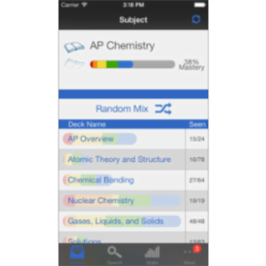 AP Chemistry Preparation App for iOS icon