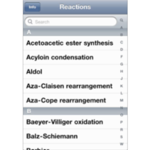 Named Reactions Student App for iOS icon