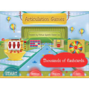 Articulation Games App for iPad icon