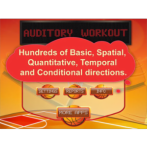 Auditory Workout App for iPad icon