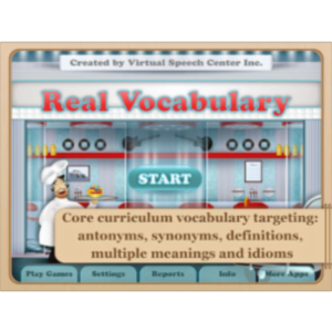 Real Vocabulary App for iPad