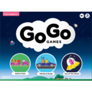 Go Go Games App for iPad icon