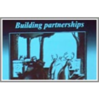 Building partnerships among stakeholders icon