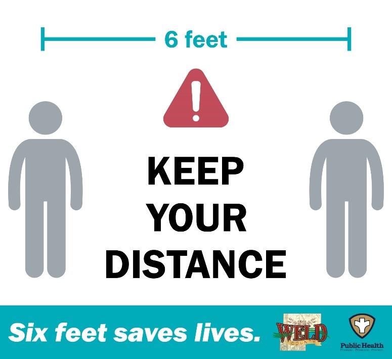 Six Feet Saves Lives: Keep Your Distance