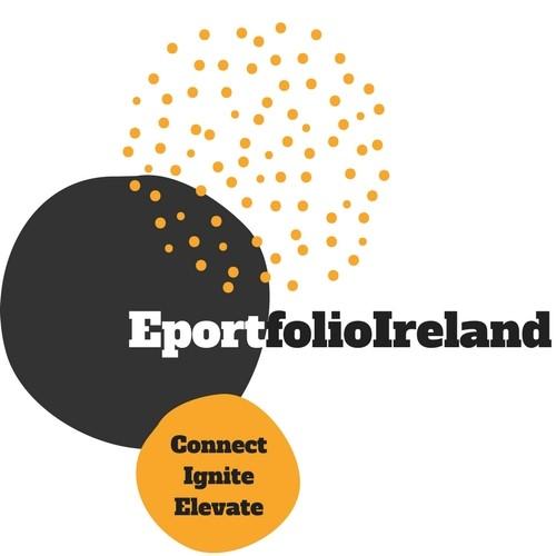 ePortfolio Ireland logo - Connect Ignite Elevate