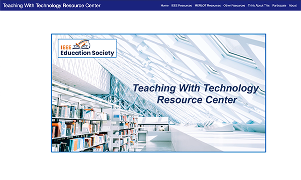 Teaching & Learning Online Portal: IEEE Education Society