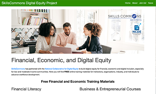 Employment Equity Portal:  SkillsCommons