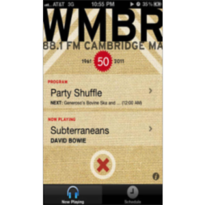 WMBR / Community Radio from MIT App for iOS icon