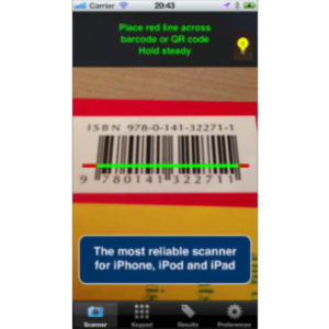 pic2shop - Barcode Scanner and QR Reader App for iOS icon