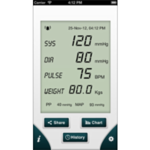 Blood Pressure - Smart Blood Pressure App for iOS icon