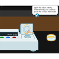 Virtual Labs: Controlling Water Activity in Food icon