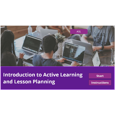 Lesson Planning and Active Learning