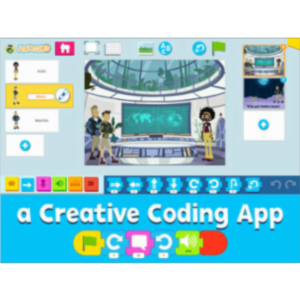PBS KIDS Scratch Jr App for iOS icon